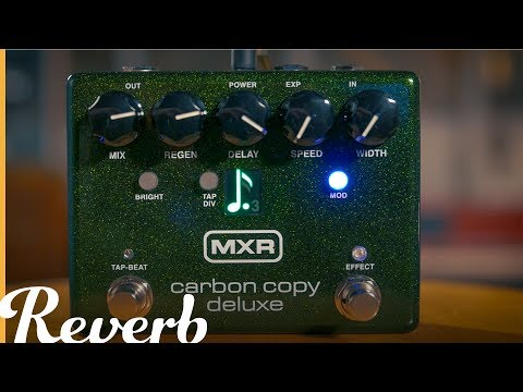 FREE 2 DAY SHIP MXR M292 Carbon Copy Deluxe Analog Delay
