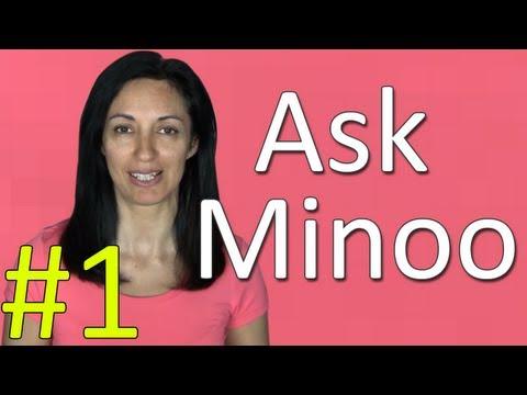 Learning English - Ask Minoo #1