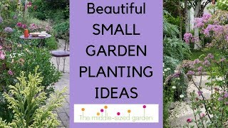Small Garden Planting Ideas...plants For Narrow Or Small Gardens