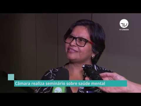 Câmara realiza seminário sobre saúde mental - 07/11/19