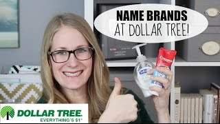Name Brands @ Dollar Tree!