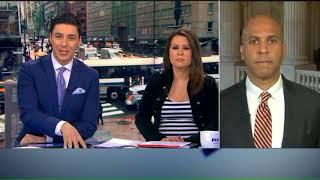 Cory Booker reacts to Rex Tillerson`s firing