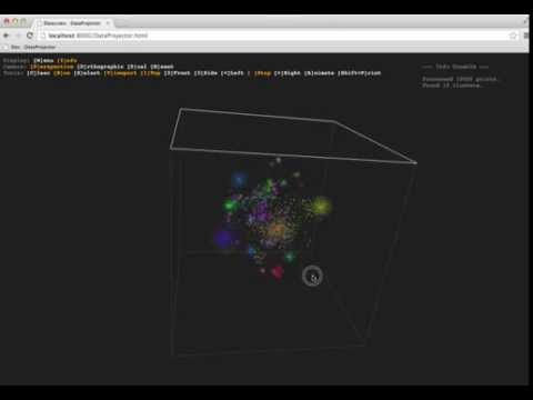 Visualizing High-Dimensional Data in the Browser with SVD, t-SNE and Three.js
