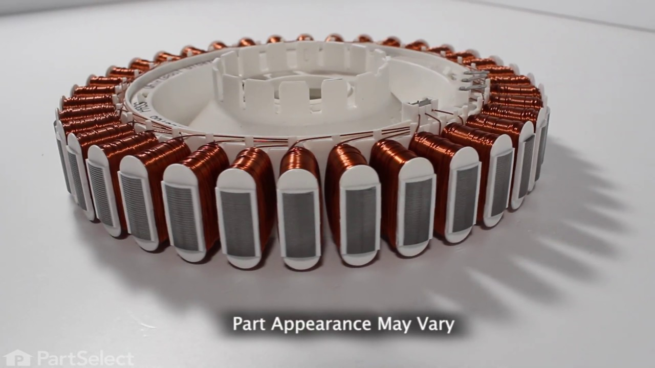 Replacing your Whirlpool Washer Motor Stator Assembly