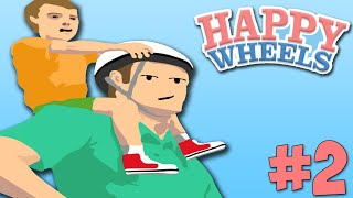 Happy Wheels With OfficialBlueBen: Stair Olympics - Episode 2