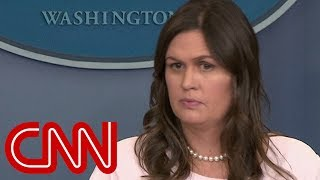 Sarah Sanders: Trump is 'certainly not' above the law