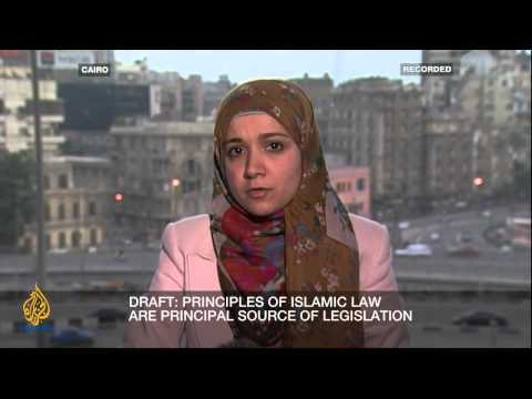 Al Jazeera - Inside Story: 'Will the New Constitution Divide or Unite Egypt', 15 Dec. 2012
