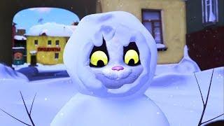Белка и Стрелка - Новогодние мультики - Настоящий Дед Мороз, Куда улетают елки и другие серии подряд
