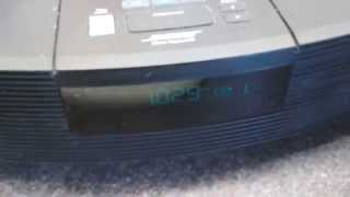 Bose Wave Radio/CD - CD Loading And Playing Issue