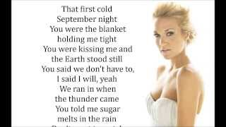 Do You Think About Me Carrie Underwood lyrics