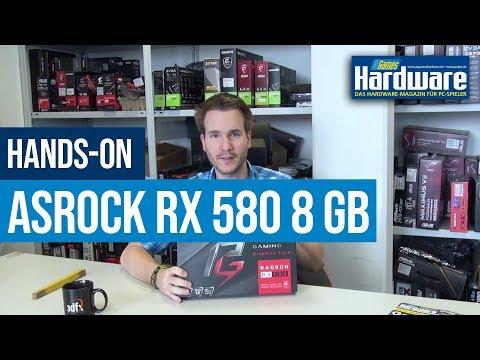 Asrock Phantom Gaming X Radeon RX580 8G OC | Erste Grafikkarte von Asrock im Hands-on