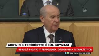 Bahçeli: PYD/YPG'yi perdelemek, gözden uzak tutmak istiyor