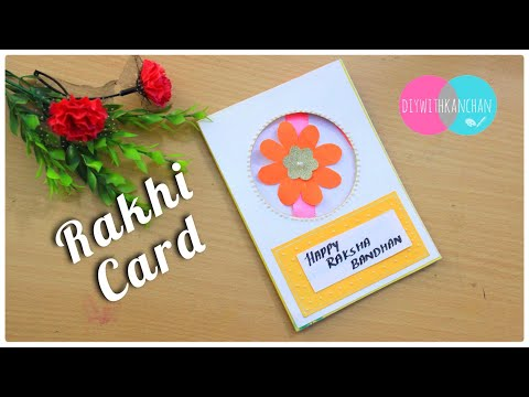 Raksha Bandhan Card Making