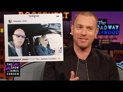 Ewan McGregor's Aggressive Carpool Karaoke Audition