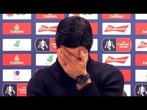 Mikel Arteta's Press Conference Is Interrupted By EVERTON Ringtone!  ♂️