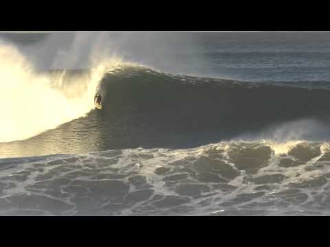 Huge tow in waves at Old Bar
