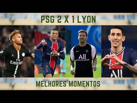 MELHORES MOMENTOS PSG 2 X 1 LYON #futebol