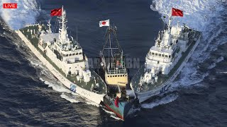 All US Military angry (Dec 19) China Warship Crash Japan Warship while Help US Attack China in SCS