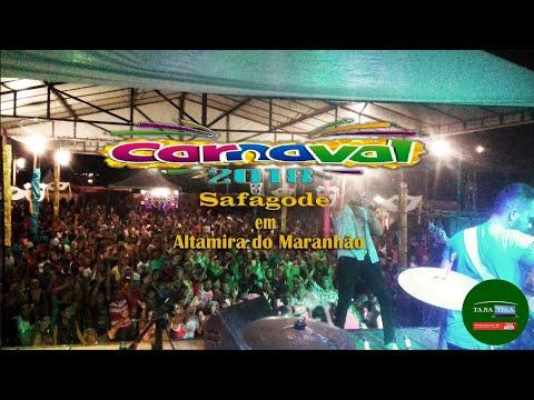 Magno de Luxo e Safagode agita foliões no carnaval em Altamira-MA 13/02/18