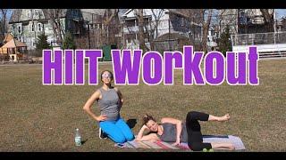 25 minute HIIT Workout by Lauren Hefez