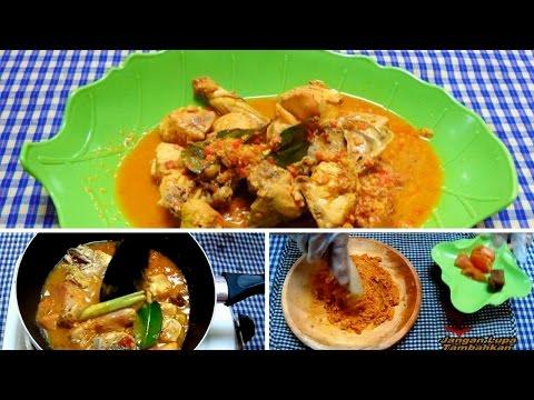 Video Resep dan Cara Memasak Rendang Ayam