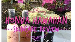 Honua Hawaiian Skincare Review