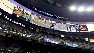 Mercedes-Benz Superdome: Longest Display Boards in the NFL Engaging Fans and Sponsors