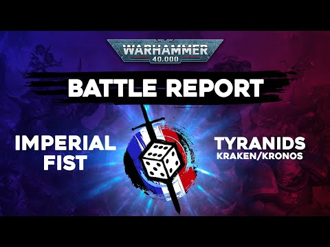 Commandeur TV - Rapport de bataille Warhammer 40000 - Imperial fist VS Tyranids - 2000pts ITC