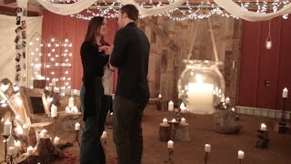 Lauren & Chris' Proposal - (The most romantic, thoughtful proposal you'll watch!)