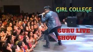 Guru Randhawa | girl college live show  Mumbai | patola | suit suit song