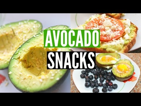 Video DIY Healthy Avocado Snacks: Simple & Fast! | Jenna Rosabelle