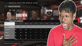a team of 40 overalls went 82-0 in nba 2k20...