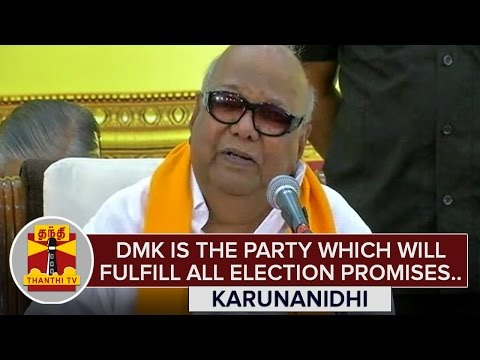 DMK-is-the-party-which-will-fulfil-all-Election-Promises--Karunanidhi-Thanthi-TV