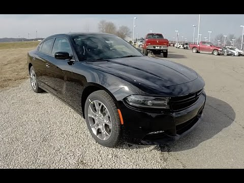 New 2015 Dodge Charger SXT Plus AWD Black | New Body Style | 17799