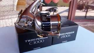 Shimano twin power pg 3000