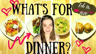 What's For Dinner?  Easy And Budget Friendly Meals!  Weeknight Friendly!