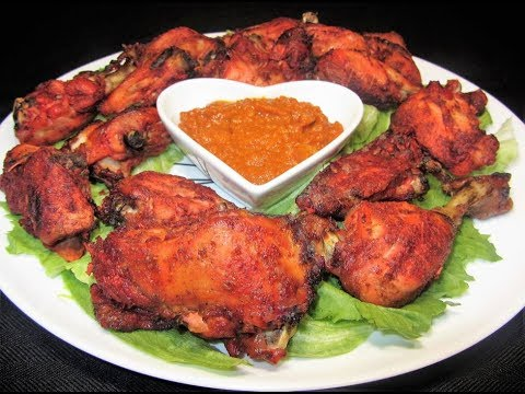 Simple Tandoori Chicken : Kuku Wa Sekela In English