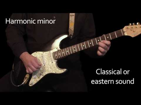 Learn Electric Guitar Lesson - Introducing Minor scales