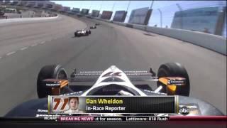 Dan Wheldon's Last Words before his fatal crash R.I.P Dan Wheldon