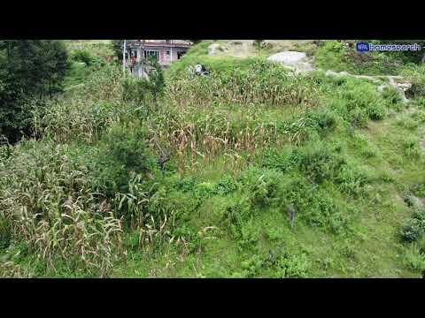 5 ropani valley view land for sale at Muhanpokhari Budhanilkantha Kathmandu.