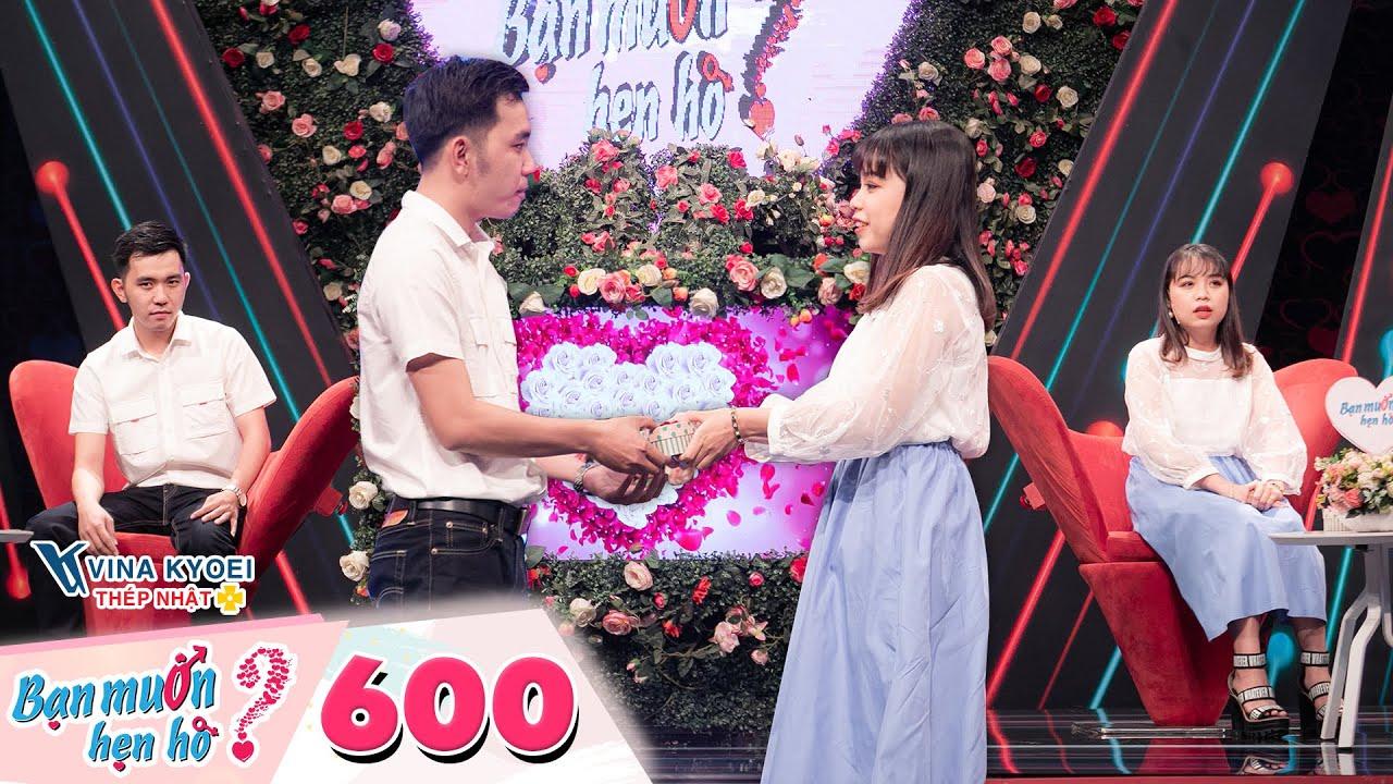 Bạn Muốn Hẹn Hò | Tập 600: Chàng giáo viên bị từ chối phũ phàng vì nàng không chịu yêu xa