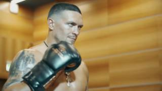 #УСИК #ПРОМО 🎥 Favourite Cruiserweight #WBO champ Oleksandr Usyk at the promo shoot.