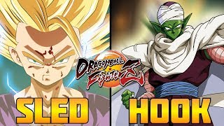 DBFZ ▰ Sled's Crazy Gohan Vs HookGangGod 【High Level Dragon Ball FighterZ】