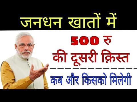 जनधन खाता धारको में 500 रुपये की दूसरी किस्त कब और किसको मिलेगी जाने ! Jandhan Account ! Tech Raghav