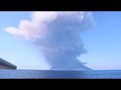 Νεκρός τουρίστας από την έκρηξη του ηφαιστείου Στρόμπολι…