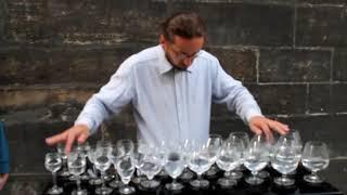 Singing wineglasses