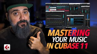 How to MASTER your MUSIC in CUBASE 11