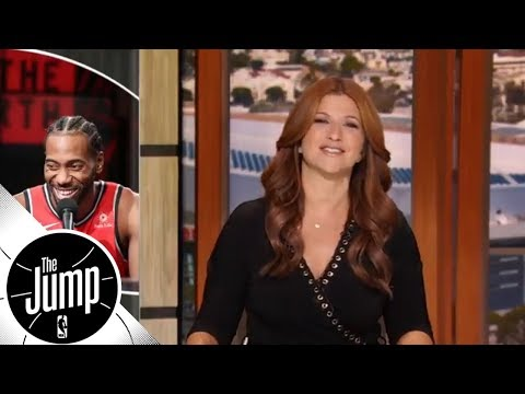 Kawhi Leonard's Raptors to challenge Celtics for NBA Eastern Conference throne? | The Jump (видео)