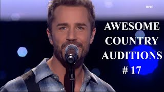 Top 5 Awesome COUNTRY Auditions Worldwide #17