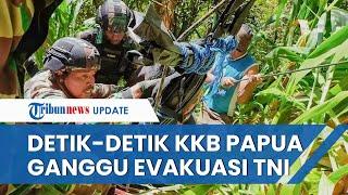 Detik-detik TNI Ditembaki KKB saat Evakuasi Jenazah Nakes Gabriela, Helikopter Alami Kerusakan